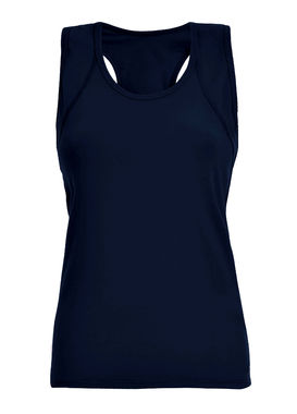 Navy blue sports top