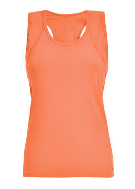Tank top with racer back orange