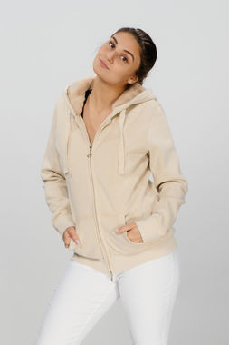 Deha women's hoodie with zipper
