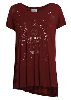 Yoga t-shirt red Deha