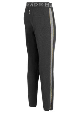 Cotton cashmere joggers, grey