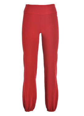 Red loose fit leggings Deha