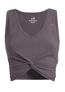 Short sports top dusty lilac