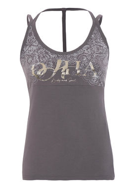 Sleeveless sports top dusty lilac