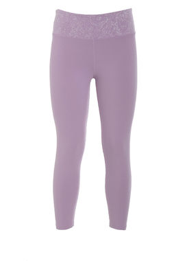 Women's leggings pale pink