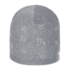Kids' fleece beanie with embellishments