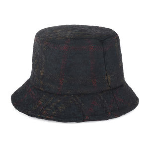 Tartan patterned bucket hat