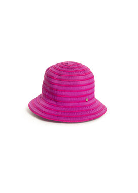 Women's summer hat, fuxia