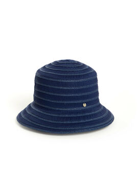 Women's summer hat, navy blue