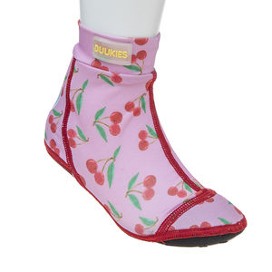 Duukies kids CHERRIES PINK/RED beachsocks