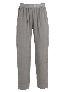 Women's satin pants grey