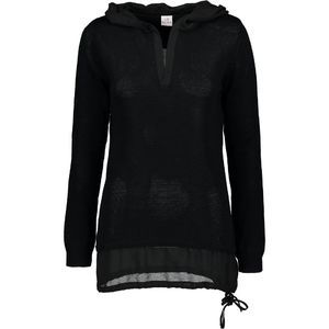 Women's sweater with hood