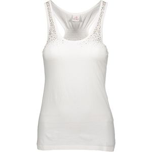 Tank top with glitter