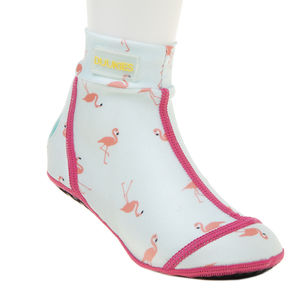 Duukies kids beachsocks FLAMINGO MINT