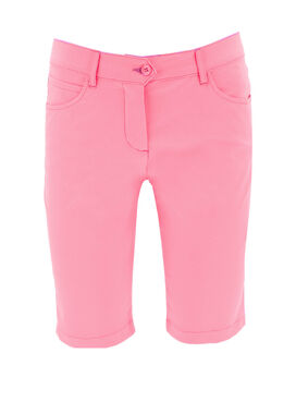 Women's golf shorts, baby pink