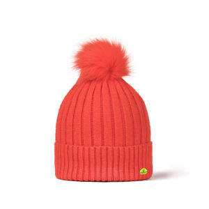 Pompom Beanie ADAMELLO orange