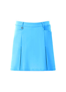 Women's golf skirt, in blue