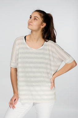 Deha women's striped shirt
