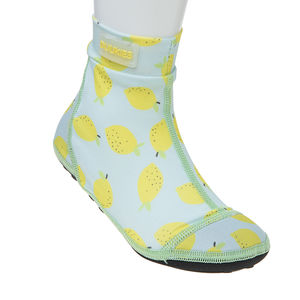 Duukies kids LEMONS MINT/YELLOW beachsocks