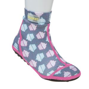 Duukies kids MUFFIN GREY/PINK beachsocks