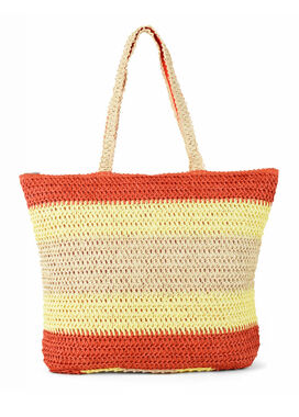 Orange summer bag