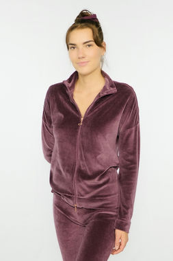 Deha women's velour jacket