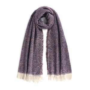 Mens' scarf bordeaux