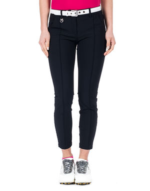 Women's pants with front seams