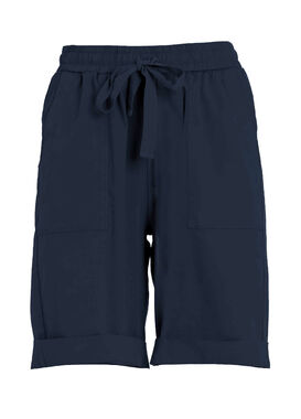 Navy blue summer shorts for women