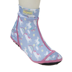 Duukies kids UNICORN LILAC/PINK beachsocks