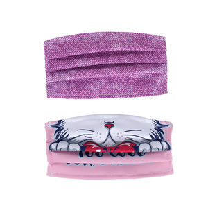 Children's face mask purple