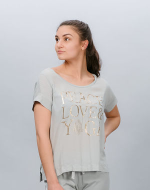 Deha women's leisure t-shirt with print