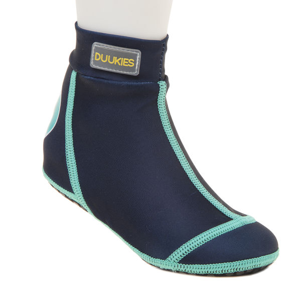 Kids beachsocks BLUE/GREEN