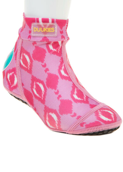 Duukies kids beach socks IKAT Pink