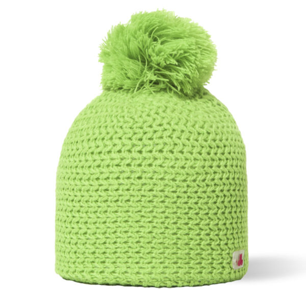 Kids' knit beanie BEST PON green