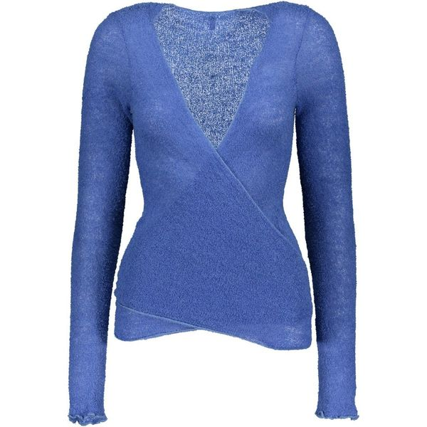 Women's Bouclé Wrap Shirt