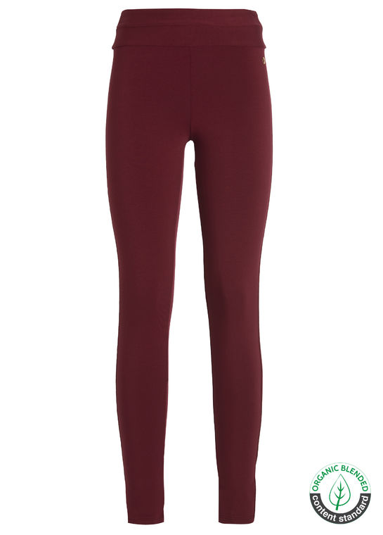 Sports leggings, deep red