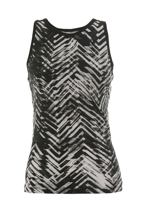 Printed Racer Back Tank Top for Women