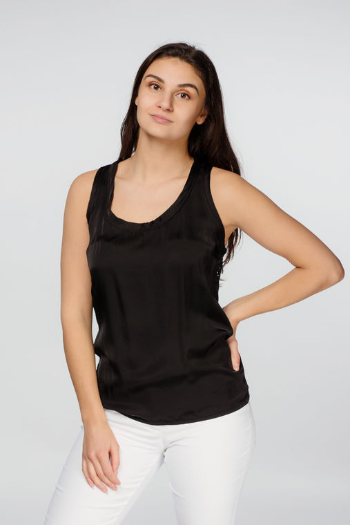 Deha women's tank top with laces on the back