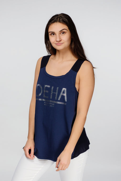 Deha women's top with open back