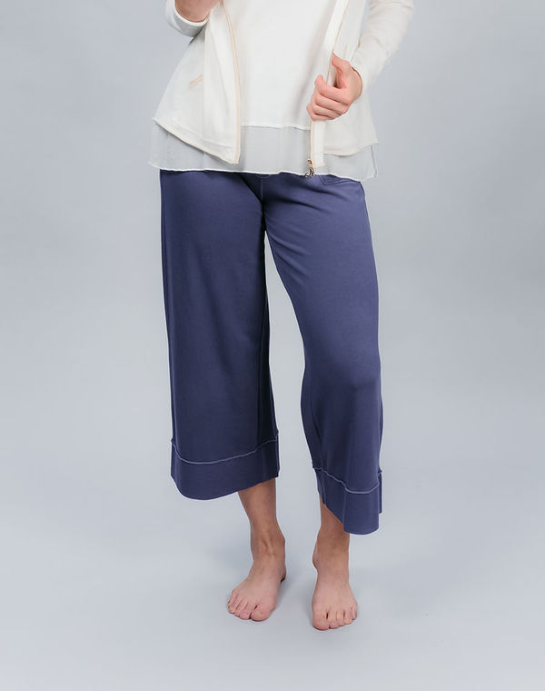 Women's wide capri pants